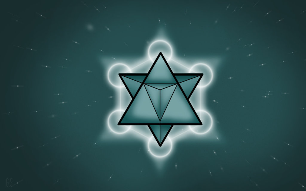 how to draw a merkaba
