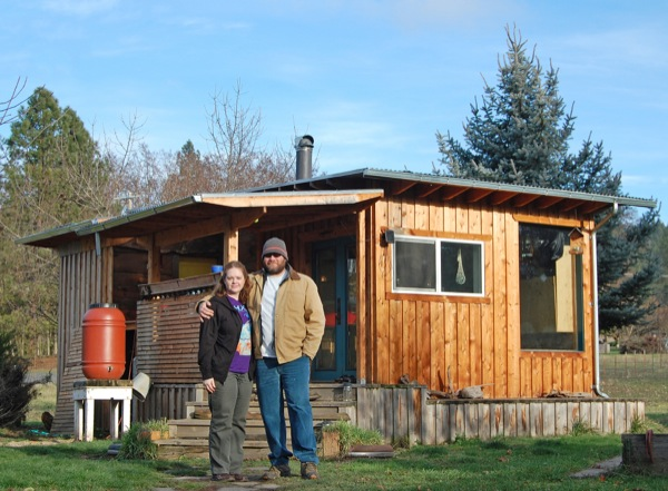 Exceptionnel Couple Go Mortgage Free With $7k DIY Off Grid Tiny Cabin